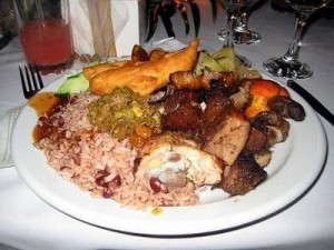 jamaican meal for Christmans